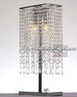 2015 modern chrome finish crystal table lamp on sale