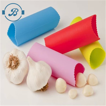 Hot Sale Bulk Silicone Garlic Peeler And Press Tube Roller