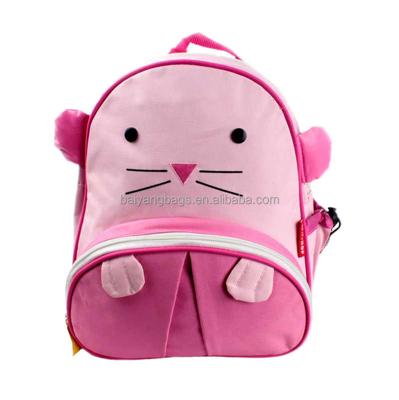 Wholesale school logo customized children backpack bag