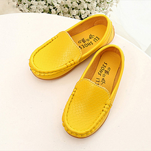 2016 New Summer Kids Classic Fashion Shoes Mocassion Shoes Unisex Fashion Flat Casual Children Shoes