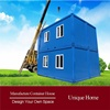 prefab quick industrial waterproof standard prefabricated houses light steel villa for sale