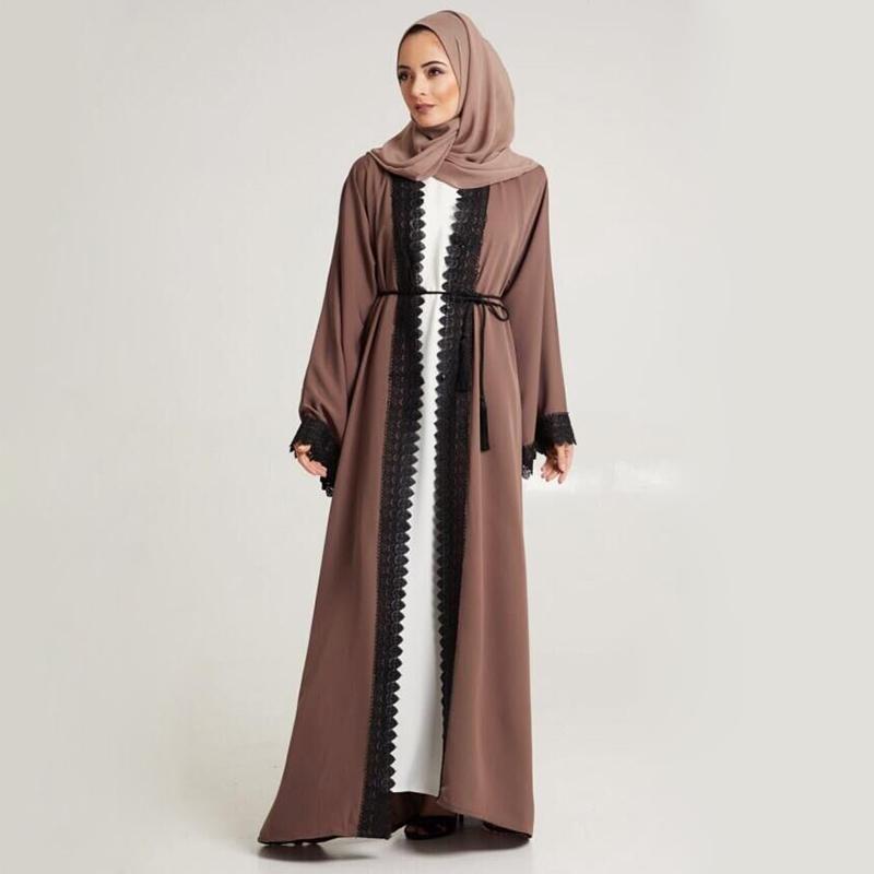 高品質の女性服アバヤ卸売ドレスパキスタンインドネシアイスラム長いカフタンドレス