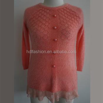 Latest Design Knitted Woman Diamond Pattern Sweater Buy Diamond