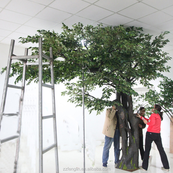 Grande Artificial rbol Decorativo Fbrica Al Por Mayor Ficus