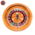 Baccarat Texas Poker Blackjack Gambling Products High quality Solid wooden 32 inch Solid Wood Professional Casino Roulette Wheel