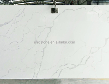 High Quality SGS Approved Artificial White Calacatta Quartz Stone Price