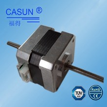 42mm small lead screw stepping motor,dual thread screw 12v non captive linear stepper motor in guangzhou