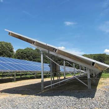 Solar Panel Mounting Rails Solar Ground Mount Racking Systems Pv Mounting -  Buy Pv Mounting,Solar Ground Mount Racking Systems,Solar Panel Mounting
