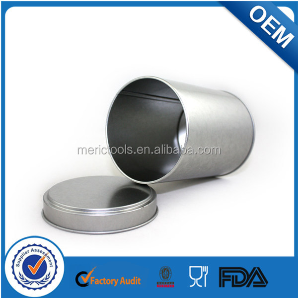 50ml Aluminum Tea Tin Can with Food Grade Inner Coating