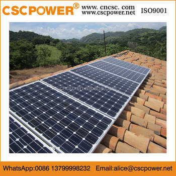 High Power 5KW 8KW Off Grid 10KW Inverter Solar Power system for Your Home and Factory