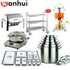 Stainless Steel GN Pan, chafer thermo pot commercial Restaurant Equipment kitchen