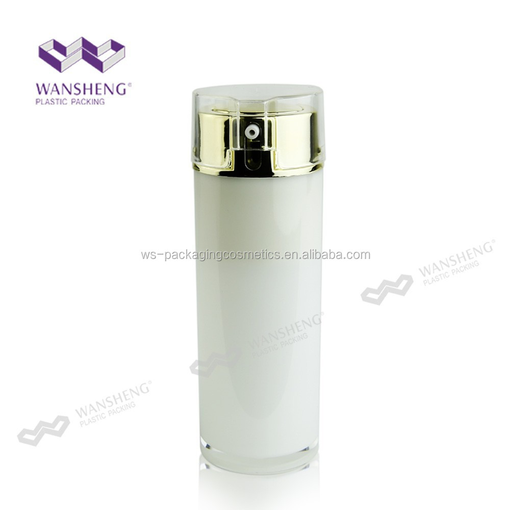 Luxurious 50ML Airless Pump Korea Lotion Cream Jar And Bottle
