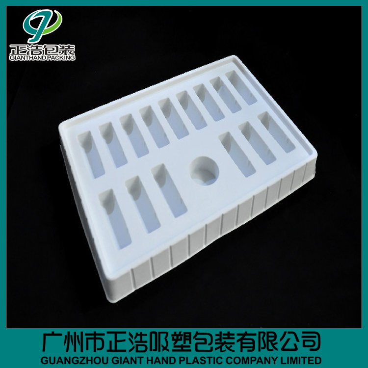 GH12-tray ,white PP tray/blister packaging boxes