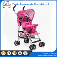 2017 most popular 3-in- 1 baby pram/fabric baby pram with four wheels /multi-function trolley for kids