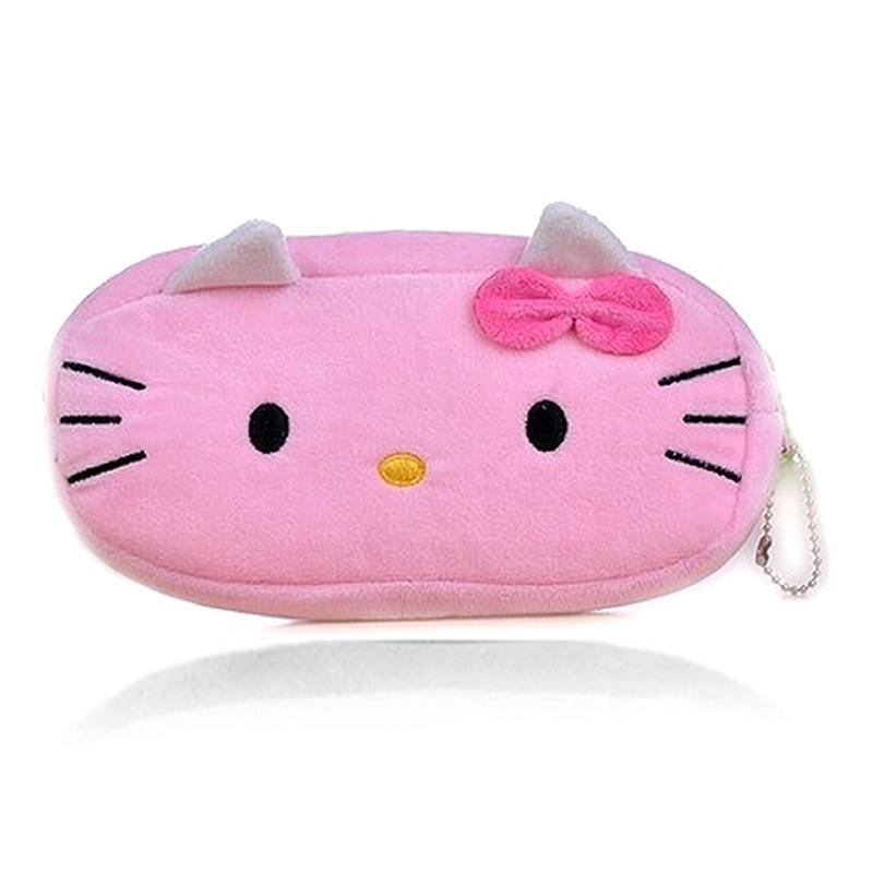 Get Quotations New 2015 Estuches School Supplies Cute Cartoon Plush Pencil Case Hello Kitty Bag Pens Pouch