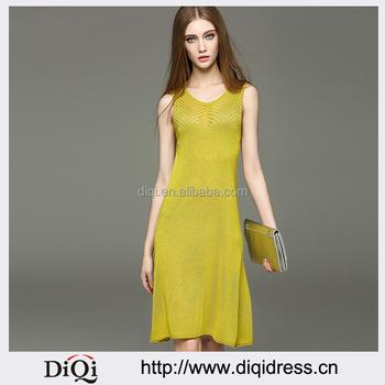Modelos de vestidos casuales en lino