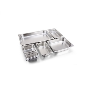 Multi-size Stainless Steel Food Gastronom Pans GN Pan Food Container