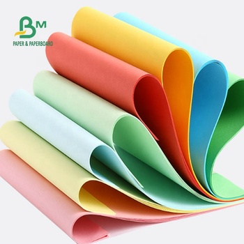 70GSM 80GSM Green Color And Other Color Offset Paper For Making DIY Material