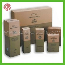 2012 fashion newly wonen perfume packing/display paper boxes