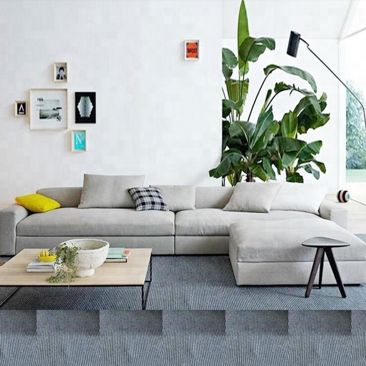 Fabric Corner Sofa Home Furniture