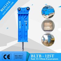 ZheJiang BLTB-125T jack hammer breaker 125mm chisel for excavator construction