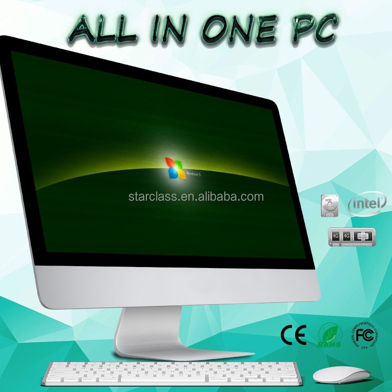 Factory brand name 23.6 inch all in one PC/Computer can be bluetooth