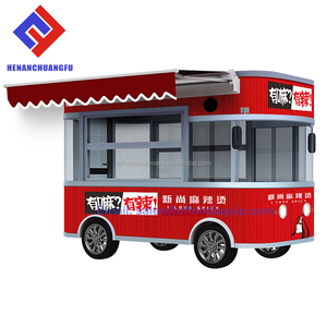 CF-FC-33M street food kiosk hot dogs cars for sale