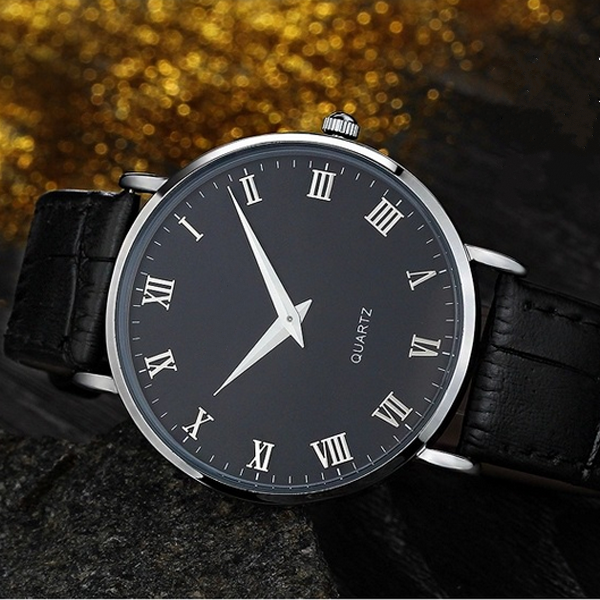 stainless steel gold plating wristwatch cheap prices