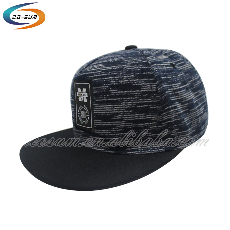 cusom brand high quality fashion baseball cap Low MOQ custom glow in the dark snapback trucker hats
