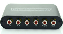 HOT Digital AC3 DTS Optical SPDIF/Coaxial Dolby Audio to Analog 5.1/2.1 Channel Surround Audio Sound Decoder