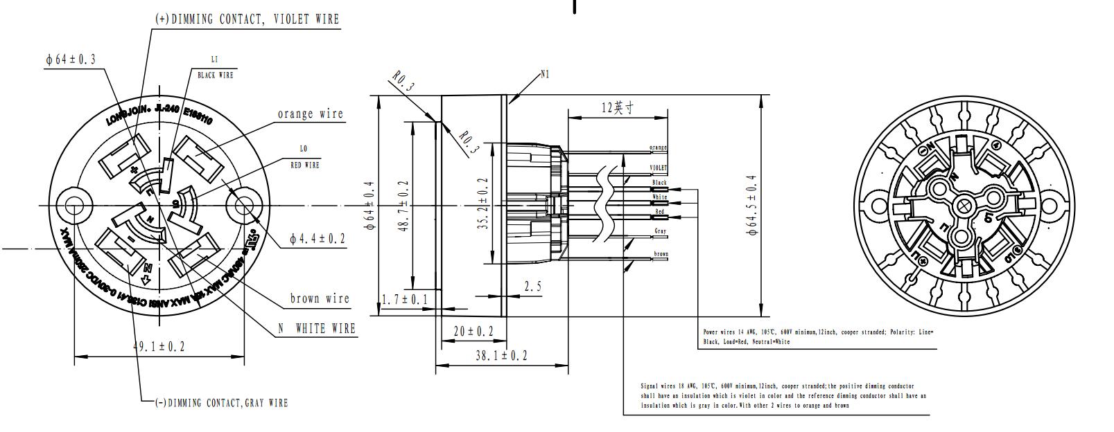 Nema 7pin 5pin Plug Photocontrol Receptacle Socket For Outdoor ... Nema Receptacle Wiring Diagram Pin on l6-30r receptacle wiring-diagram, standard receptacle wiring-diagram, l5-30r receptacle wiring-diagram, nema 14-50r wiring-diagram, nema twist plug and receptacle chart, 50 amp receptacle wiring-diagram, nema l14-30p wiring-diagram, nema 10-30r wiring-diagram,
