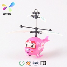 Hot Sale Minion Infrared Control Helicopter RC Remote Control Induction Aircraft Flying Toy Children Novel Toy