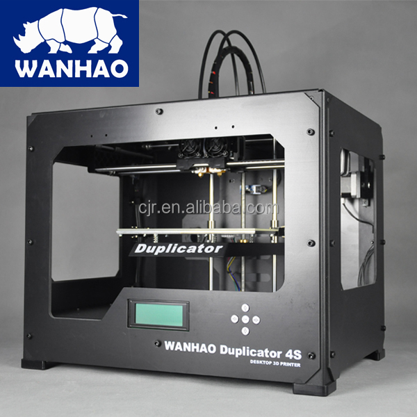 WANHAO stampante 3D industriale digitale di Alta precisione D4s per prototipo made in China