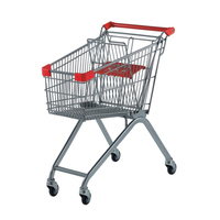 Old lady cart my shopping internet