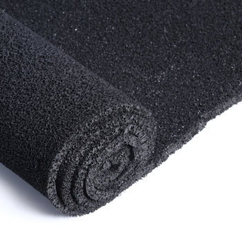 obsorbing smells non-woven fabric material polyurethane air filter foam activated carbon foam