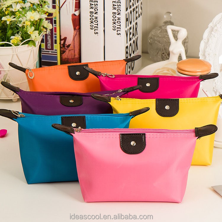 candy color small makeup storage cosmatic bag