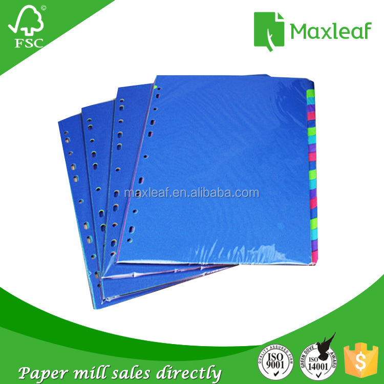 Chinese product purple index cards bulk products from china