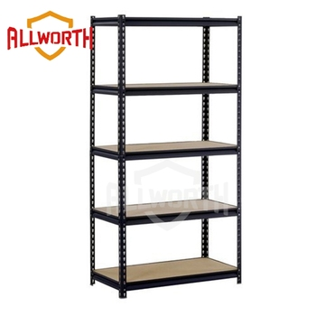 Light Duty 5 Layers Garage Angle Boltless Shelving Rack