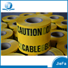 Printed None Adhesive PE Warning Tape, Barrier Tape