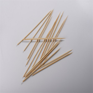 Non-stick bbq bamboo skewers 12-50cm