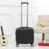 18 inch Trolley Spinner ABS luggage suitcase hard shell luggage set