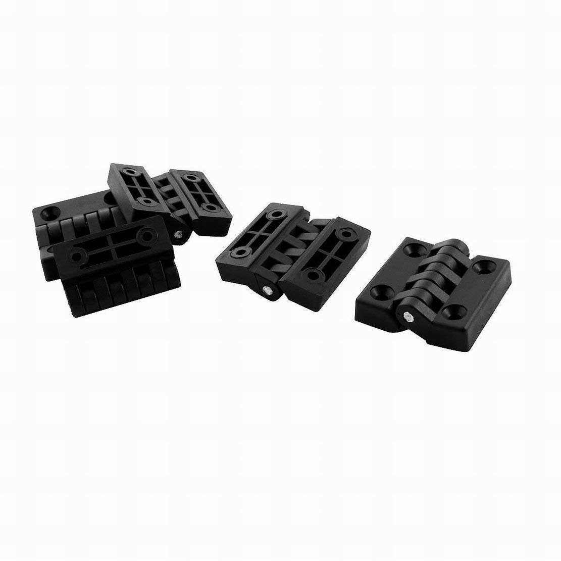 2 piece National Hardware S808-360 V8033 Door Hinges in Black 3-1//2
