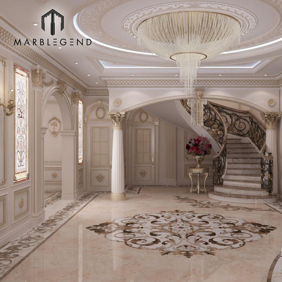 Fabricant De Luxe Maison Décoration D\'entrée En Marbre Carrelage ...