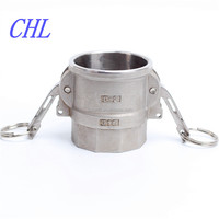 high quality stainless steel canlock flexible pipe coupling