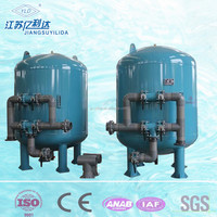 sand filter installation Quartz Sand /Activated carbon water Filter for Waste Water Purification
