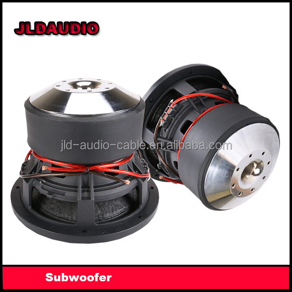 2017 NEW China Subwoofer for cars RMS 1500w with huge Motor SPL subwoofer