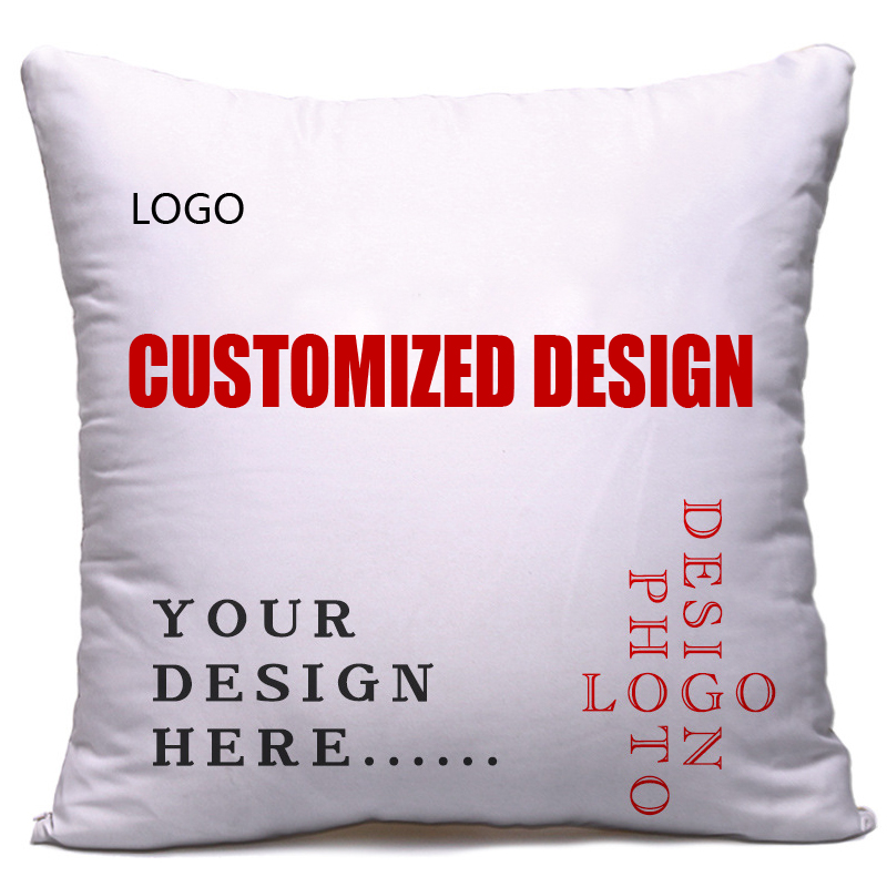 Cheap OEM custom printed cushion custom christmas funny cushion