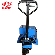 hand jack electric drive semi electric pallet truck