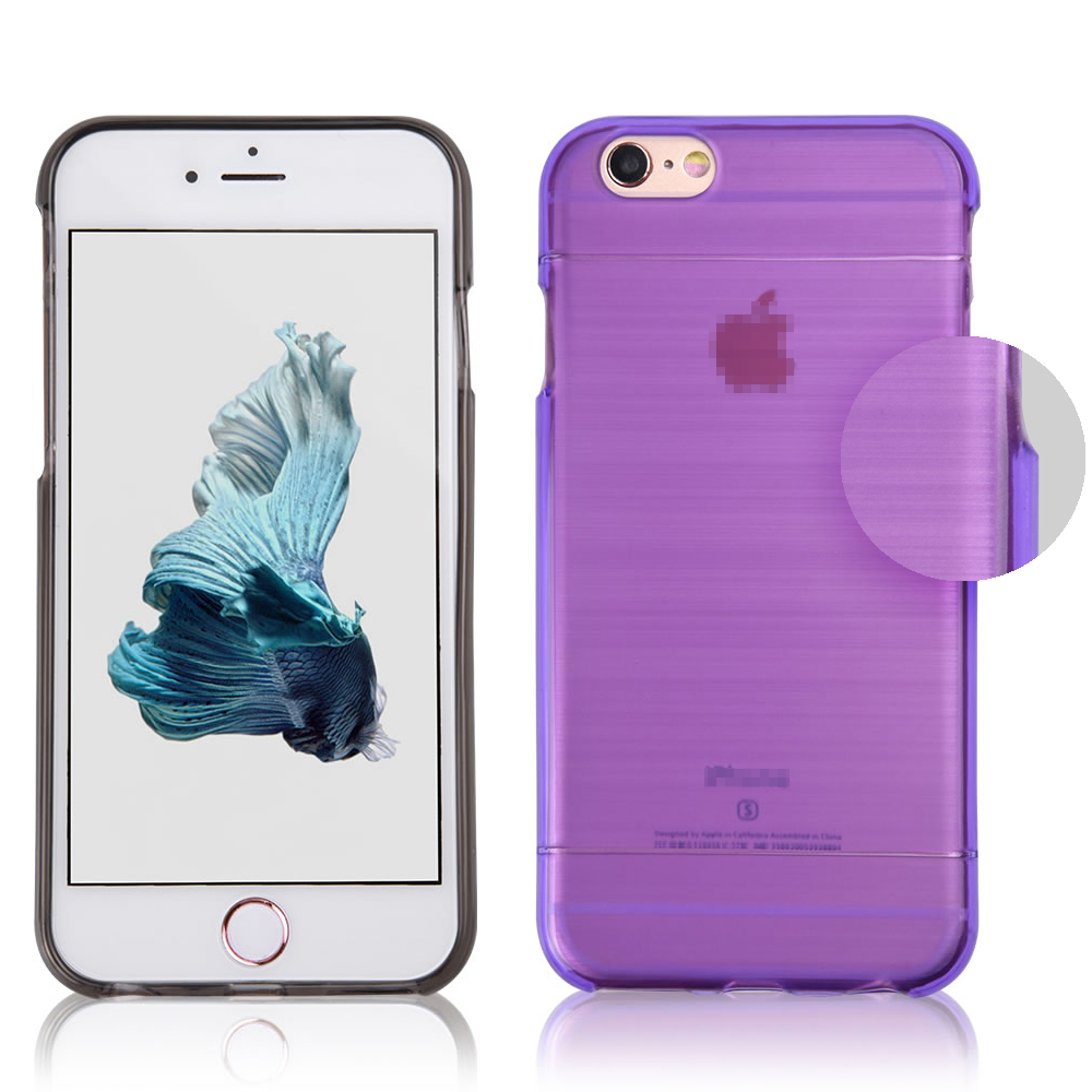 C&T Solid Color Brushed TPU Soft Case for iPhone 6 Plus