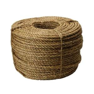 Factory price wholesale 100% Natural Eco-friendly hemp sisal rope